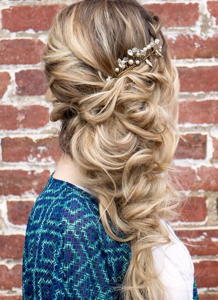 Featured Hairstyle: Hair and Makeup by Steph (Stephanie Brinkerhoff); www.hair...
