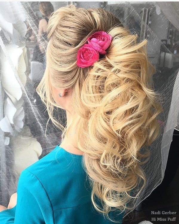 100 Wedding Hairstyles from Nadi Gerber You'll Want To Steal   Hi Miss Puff