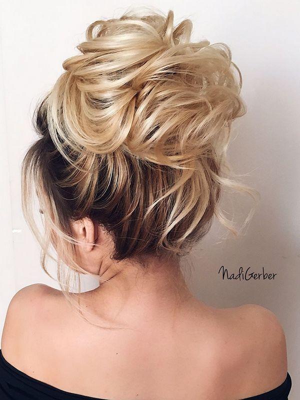 40 Stuning Long Curly Wedding Hairstyles from Nadi Gerber | Deer Pearl Flowers -...