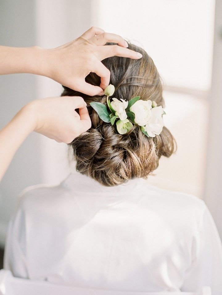 Featured Photographer: Jeremy Chou Photography; wedding hairstyle idea