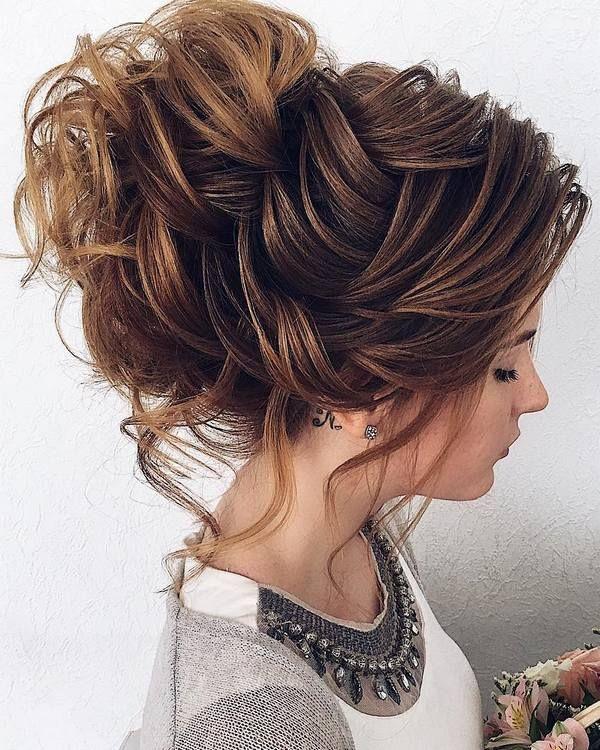 Bridal Hairstyles : 40 Stuning Long Curly Wedding Hairstyles from Nadi ...