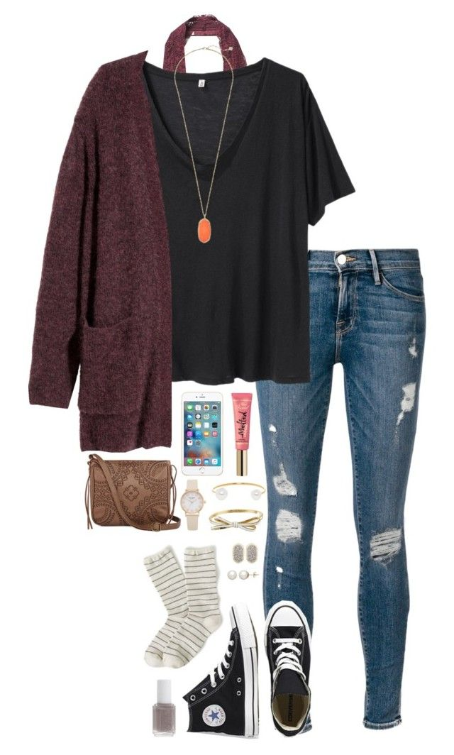heyyy beautiful by thatprepsterlibby on Polyvore featuring R13, H&M, Frame Denim...