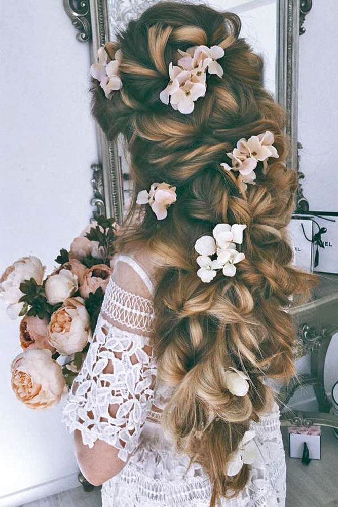 18 Gorgeous Bridal Hairstyles ❤ There are many beautiful bridal hairstyles to ...