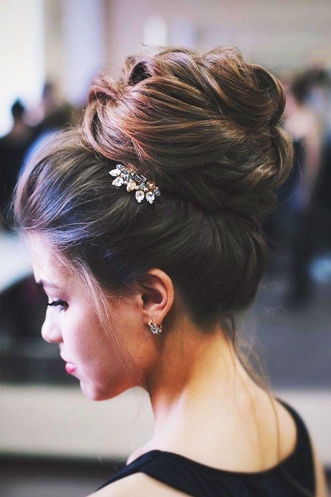 18 Gorgeous Wedding Bun Hairstyles ❤ We created a list of wedding bun hairstyl...