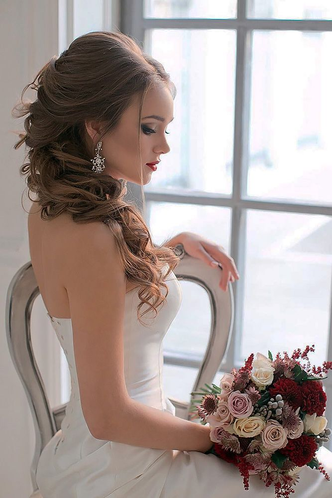 18 Wedding Hairstyles For Every Hair Length ❤ We collected for future Mrs some...