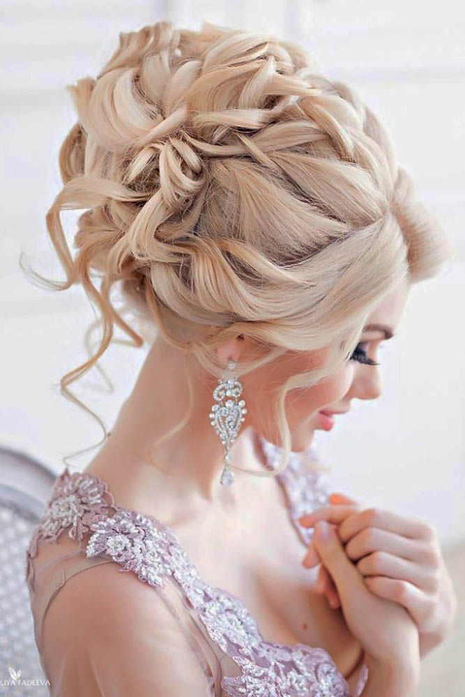 24 Creative & Unique Wedding Hairstyles ❤ From creative hairstyles with romant...