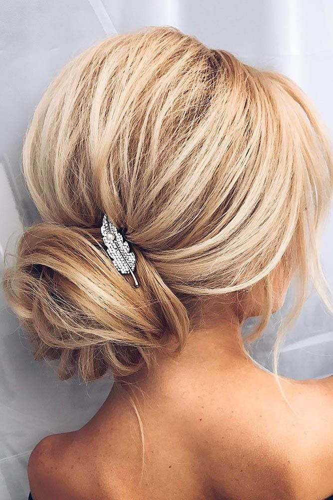 30 Bridesmaid Updos - Elegant And Chic Hairstyles ❤️ If you are looking for ...
