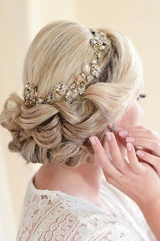 30 Bridesmaid Updos - Elegant And Chic Hairstyles ❤ See more: www.weddingforwa...