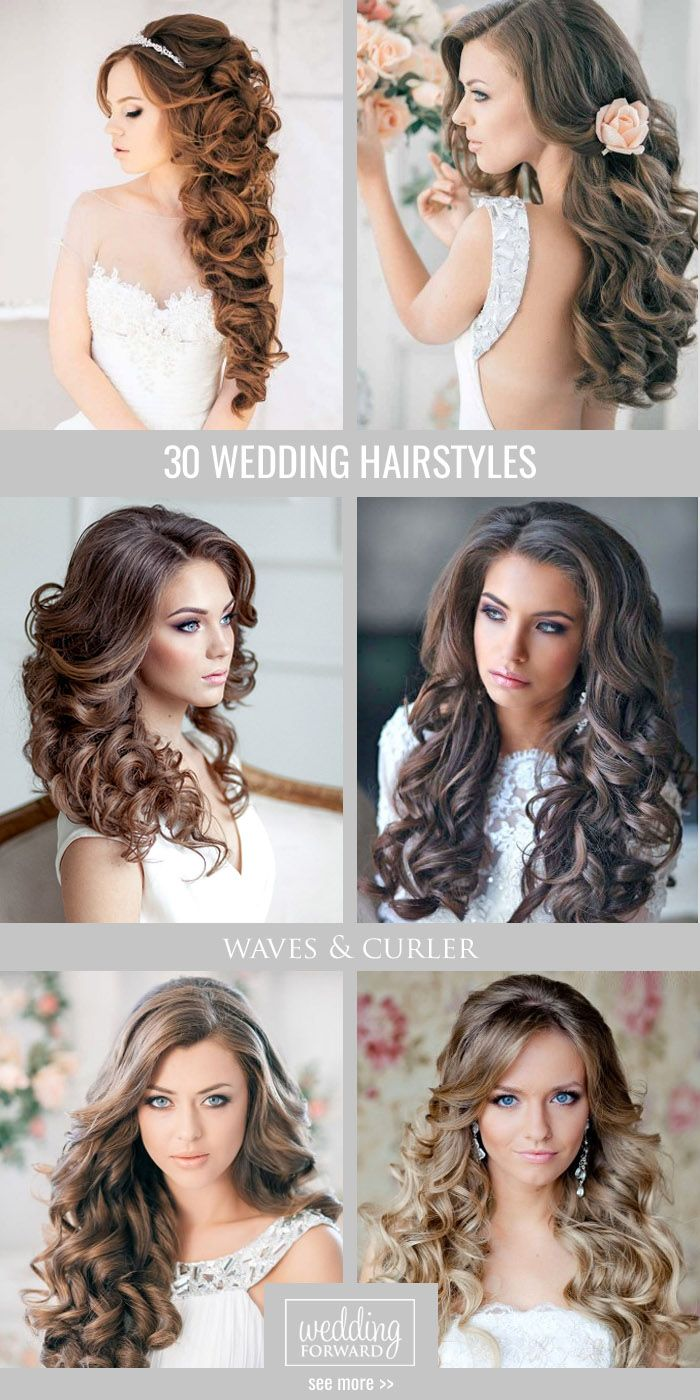 30 Favourite Wedding Hairstyles For Long Hair ❤ Hairspiration is when we go cr...