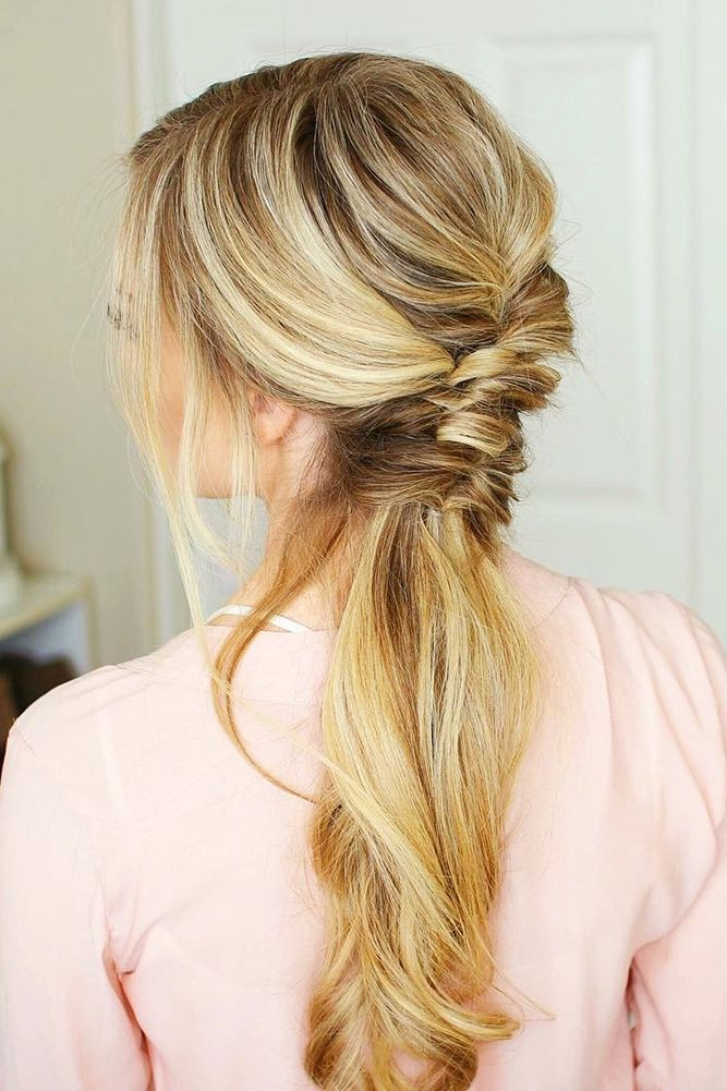 30 Party Perfect Pony Tail Hairstyles For Your Big Day ❤️ See more: www.wedd...