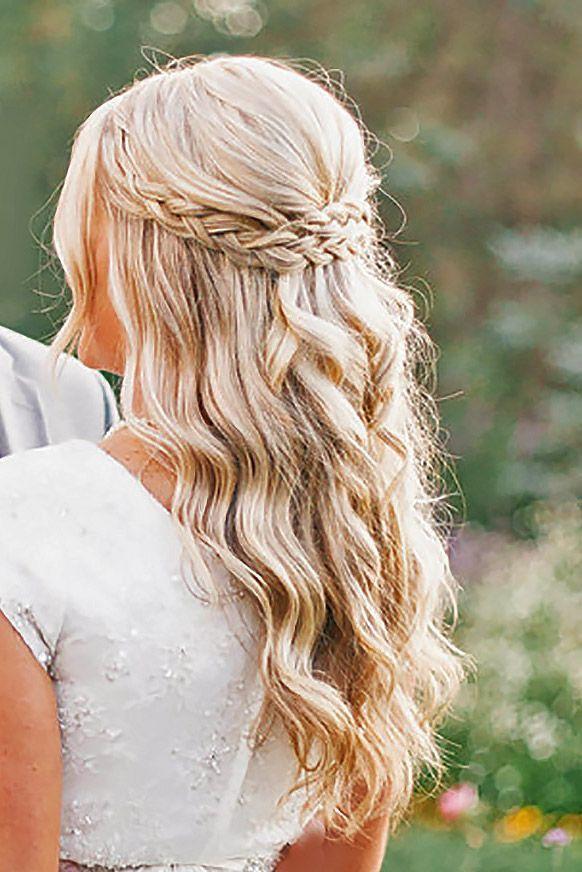 18 Gorgeous Bridal Hairstyles ❤ See more: www.weddingforwar... #weddings #hair...