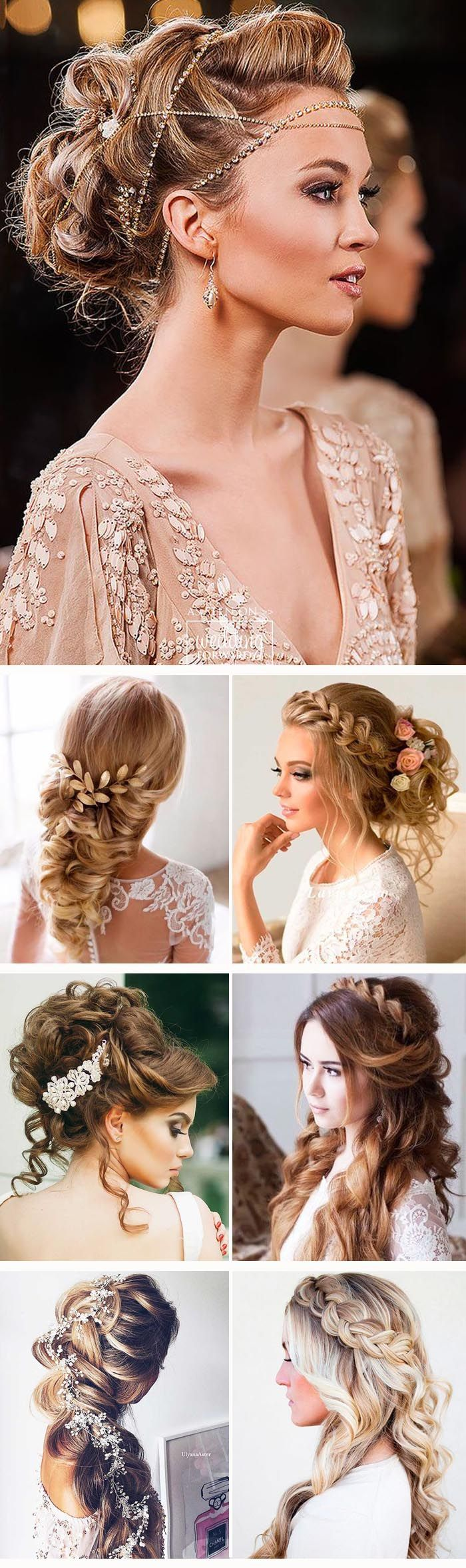 24 Greek Wedding Hairstyles For The Divine Brides :heart: Greek wedding hairstyl...