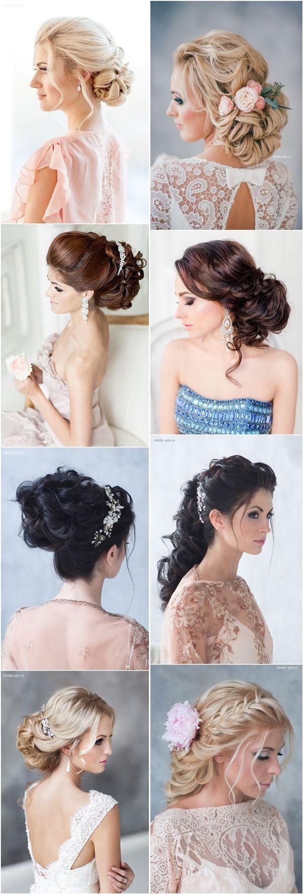 braided wedding bridal hairstyles for long hair / www.deerpearlflow...