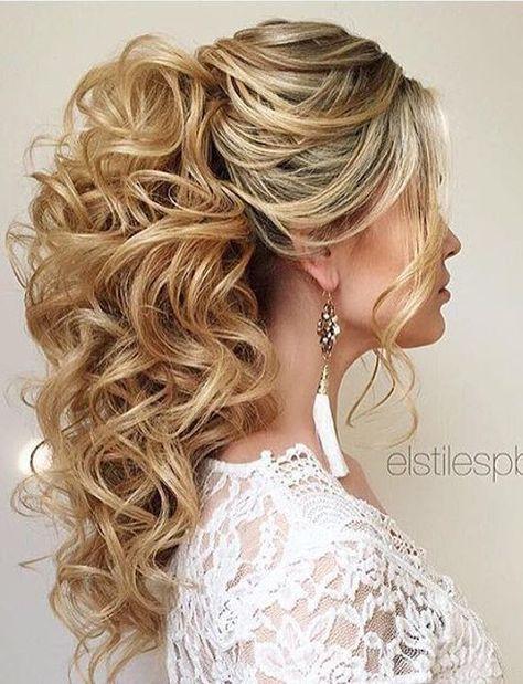 Elstile wedding hairstyles for long hair 37 - Deer Pearl Flowers / www.deerpearl...