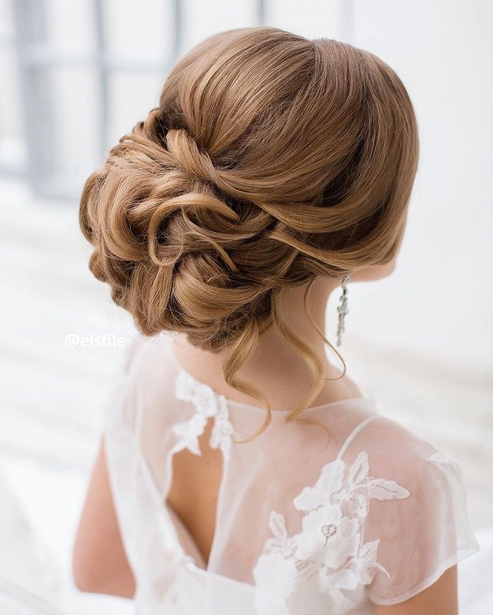 This beautiful updo bridal hairstyle perfect for any wedding venue - Beautiful w...