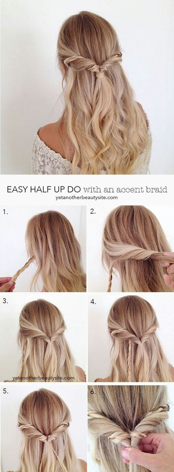 Whenever I think of prom hairstyles, I think of something traditional: either a ...