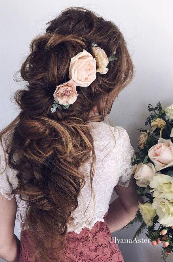 Ulyana Aster Long Wedding Hairstyles & Updos 13…