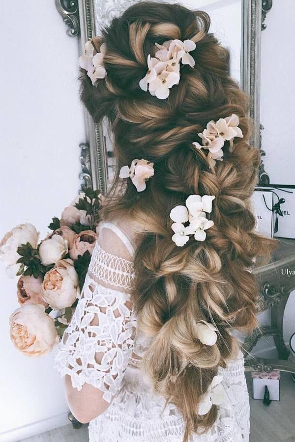 Ulyana Aster Long Wedding Hairstyles & Updos 2   Deer Pearl Flowers