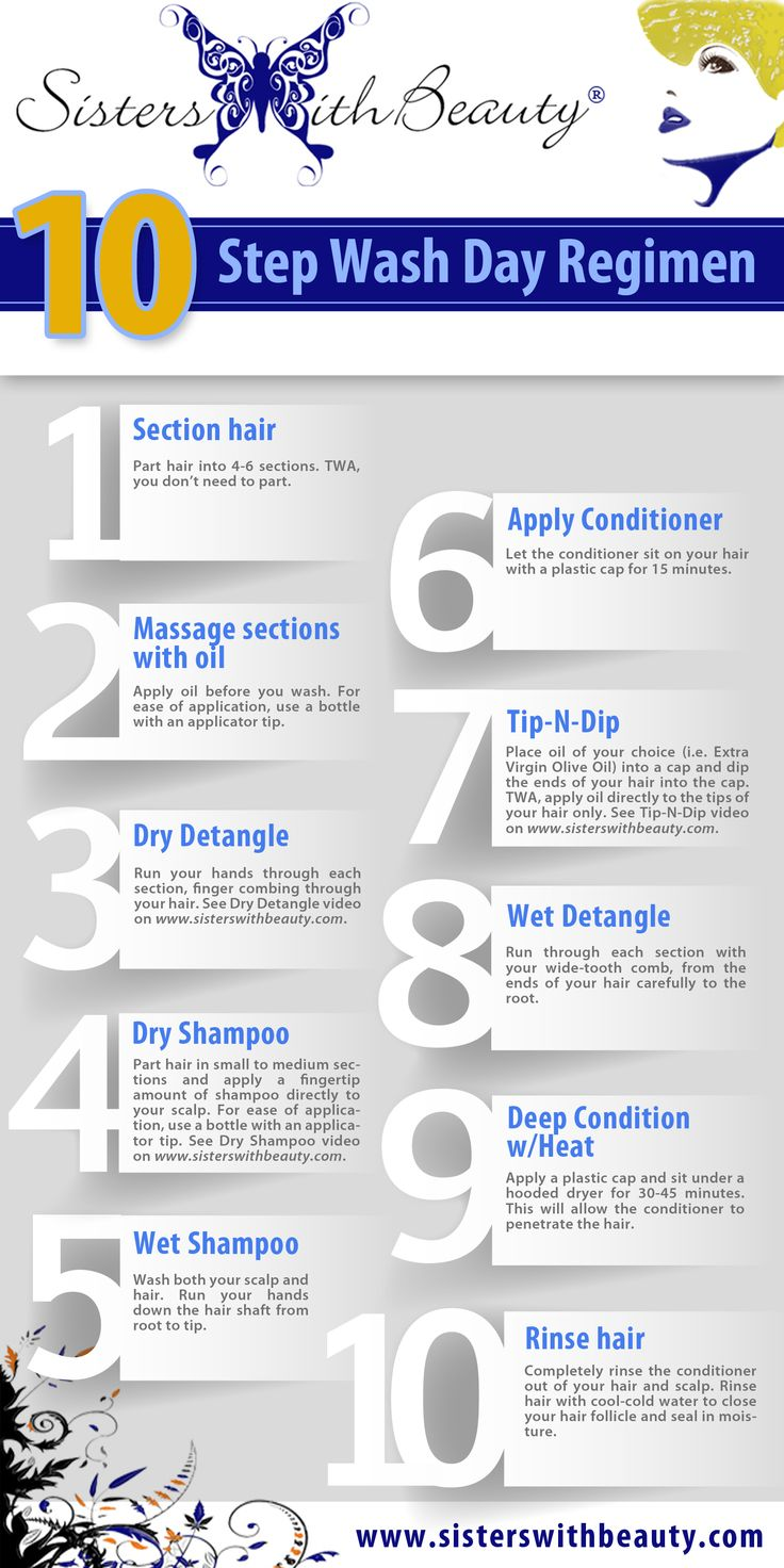 10 step wash day routine  #washdayroutine #washday #washroutine