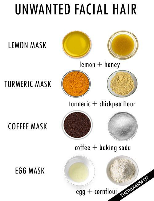 Do not put chemicals on your face to remove facial hair or chin hair! Chemicals ...