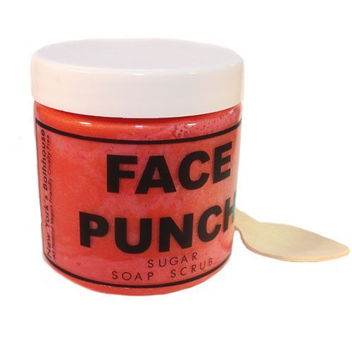 Exfoliate & moisturize your skin with the true scent of fruit punch made with bu...