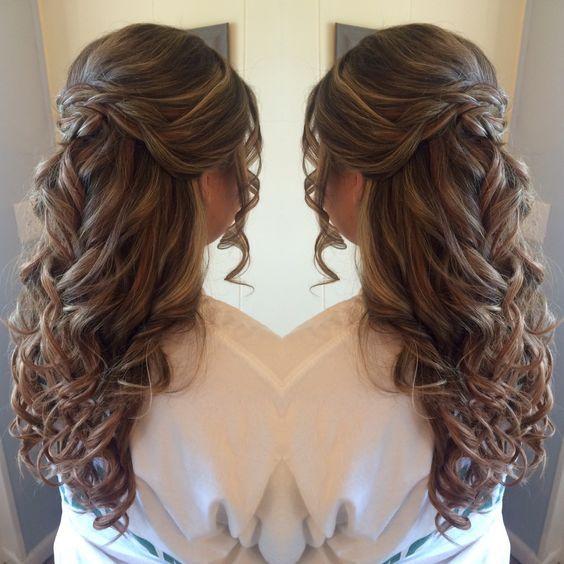 Hair, Hair Stypes, tips, weeding hair styes, Top hairs styles, prom hais, easy h...