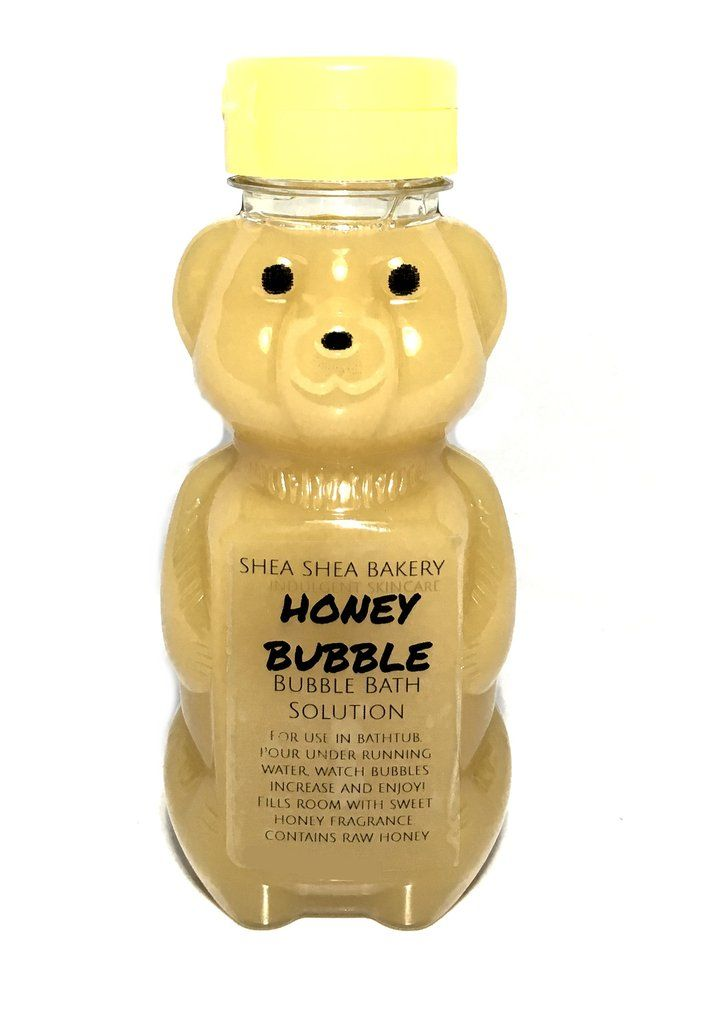 Honey Bubble bath time treat! Pour solution under running water and watch your b...