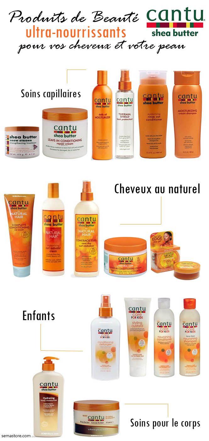 Les collections et produits de soins capillaires Cantu® : Cantu® Shea Butter, ...
