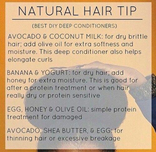 Natural hair tip Destiny ✨