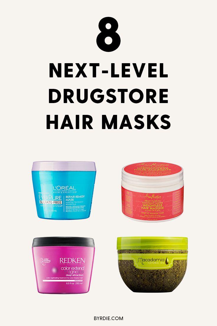 The best drugstore hair masks
