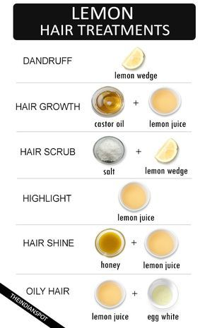Use lemon juice as a part of your new hair care routine to help improve the heal...