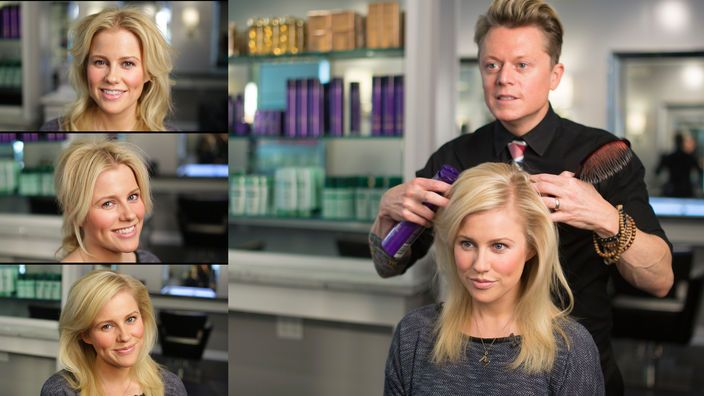 3 easy hairdo's created with some amazing Kerastase products