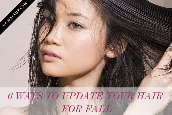 6 ways to update your hair for fall // from bobs to bangs, love these looks!