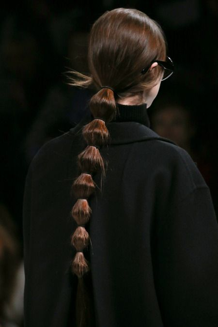 Add some spice to your ponytail