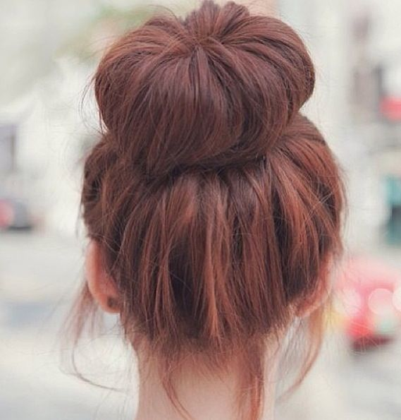 big beautiful bun #hair