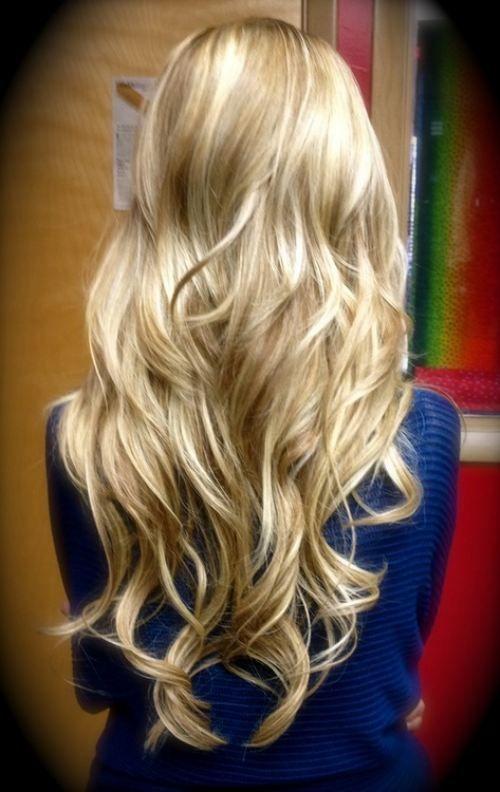 Big loose curls // #hair