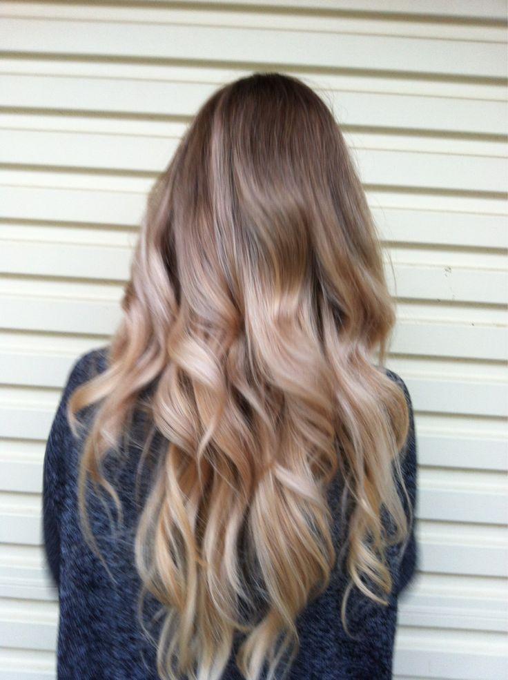 blonde curls #hair