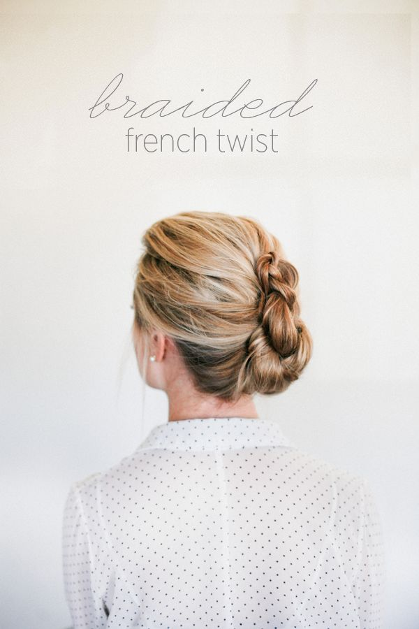 Braided French Twist How To