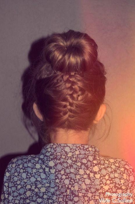 bun & braid ♥