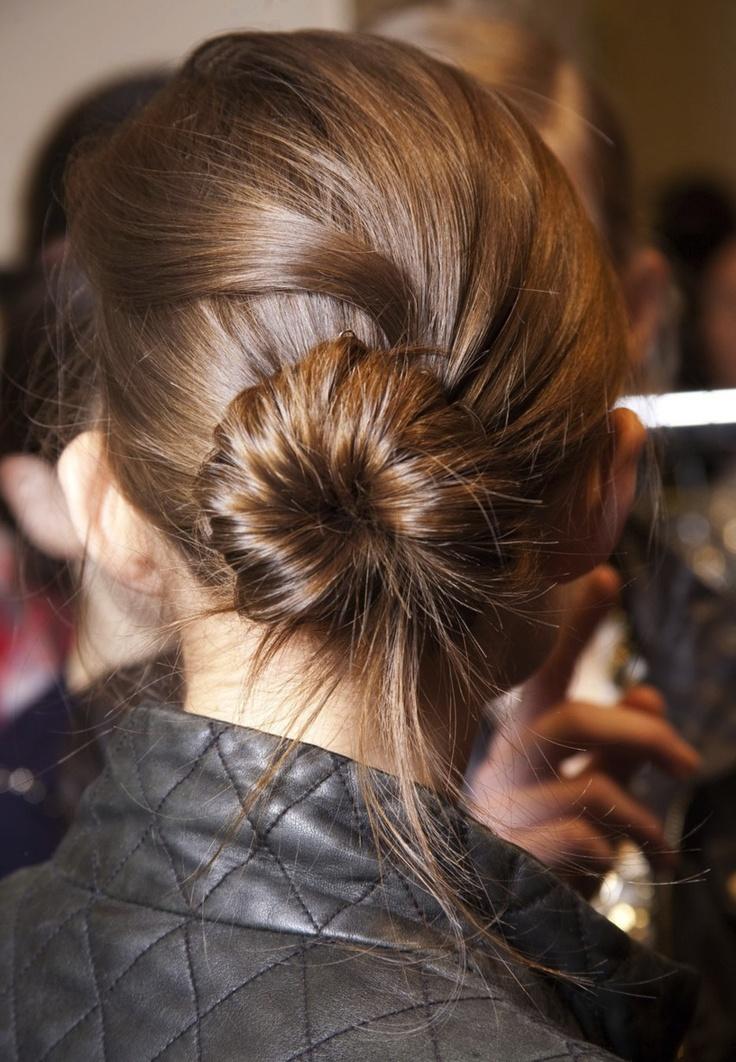 cute bun // #hair