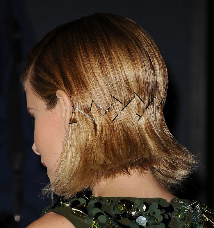 DIY this bobby-pin design with tips from Kate Mara's hairstylist.