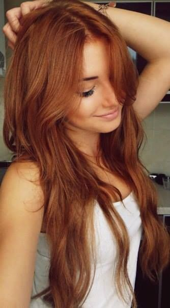 Gorgeous Red Hair and Long Layers! // #hair