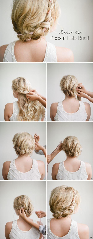halo braid how to // precious