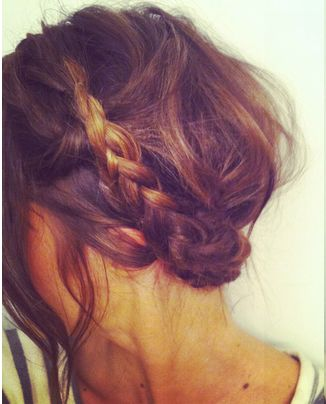 halo braids are so in right now