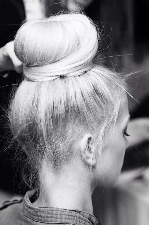 high bun // #hair