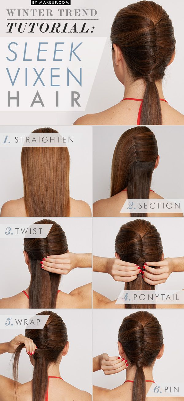 How to do a twisted ponytail // love this look!
