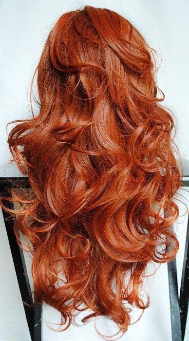 killer red hair