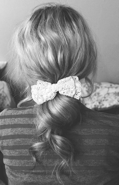 lace + bow