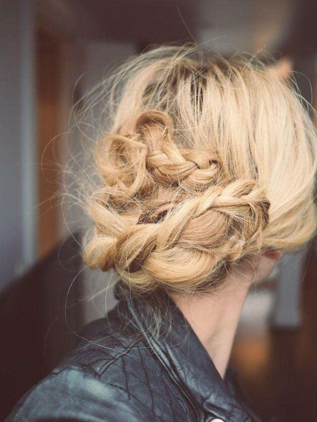Messy braids
