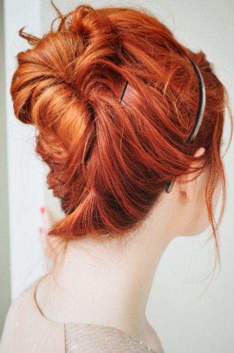 pretty updo #hair